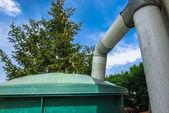 Rainwater recuperator — Stock Photo