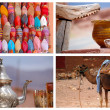 Traditional market in Morocco — Stock Photo