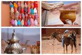 Traditionell marknad i Marocko — Stockfoto