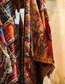 Moroccan carpet store in Essaouira, Morocco — Stock Photo