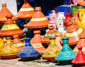 Traditional moroccan earthenware at Essaouira — Стоковое фото