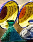 Traditional moroccan earthenware at Essaouira — Foto de Stock