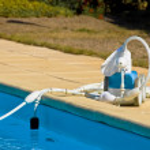 Robot pool — Stock Photo #36713327