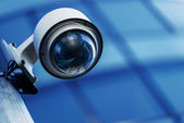 Security camera and urban video — Stock Photo