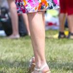 Beautiful legs of young woman — Stock Photo #48326637