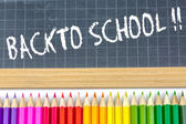 Welcome back to school — Zdjęcie stockowe