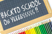 Welcome back to school — Stock Photo