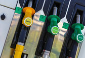 Gasoline station fuel pump — Stock Photo