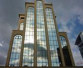 Glass building — Стоковое фото