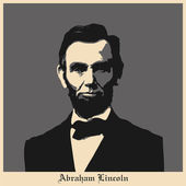 Abraham Lincoln — Stock Vector