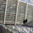 Fragment of stadium — Stock Photo
