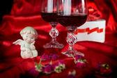 Bir melek ile bir aşk hayatı — Stok fotoğraf