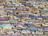 Colored stones texture closeup — Stock Photo