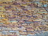Colored stones texture — Stock Photo