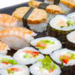 Royalty-Free Stock Photo: Sushi set closeup