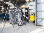 Boat engine — Stock Photo