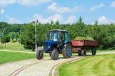 Tractor-trailer — Stock Photo
