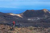 Volcano Sierra Negra, Galapagos Islands, Ecuador. — Stock Photo