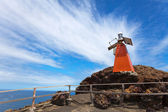 Lighthouse on Bartolome island — Stock Photo