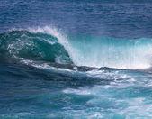 Welle am pazifischen ozean — Stockfoto