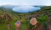 Laguna el junco, insel san cristobal — Stockfoto