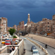 View of the street in Yemen — Foto Stock