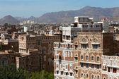 Cityscape of Sanaa — Stock Photo
