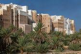 Shibam city, Yemen — Stock Photo