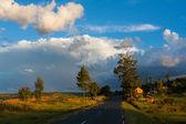 Západ slunce v madagaskar — Stock fotografie