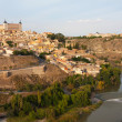 The ancient city Toledo - Stock Photo