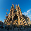 Sagrada Familia in Barcelona — Stock Photo #17663363