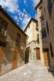 Ulice středověkého města — Stock fotografie