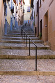 Medieval streets in Spain — Stock Photo