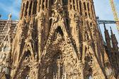 Sagrada familia in barcelona — Stockfoto
