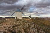 风车、 西班牙 — 图库照片