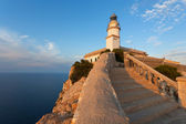 The lighthouse on the island of Mallorca — Stock Photo