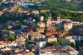 View to the seminary of San Sebastian — Stock Photo