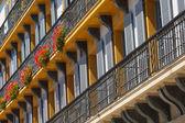 Hiszpania z balkonem — Zdjęcie stockowe