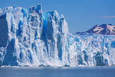Gletscher perito moreno in patagonien — Stockfoto