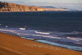 пляж на национальный парк монте лион — Стоковое фото
