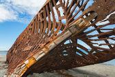 Nave distrutta — Foto Stock