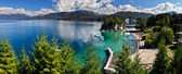 Lake Nahuel Huapi in Argentina — Foto de Stock