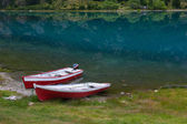 Two boats — Stock Photo