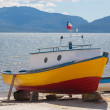 Stock Photo: Boat, Patagonia, Chile