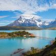 The National Park Torres del Paine - Stockfoto