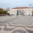 Rossio square in Lisbon — Stock Photo