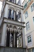 Famous elevator in Lisbon — Stock Photo