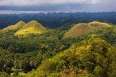 Chocolate Hills, Bohol Island — Stock Photo
