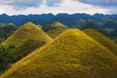Chocolate Hills, Bohol Island — Stock Photo