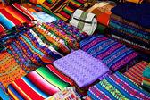Colored fabrics — Stock Photo